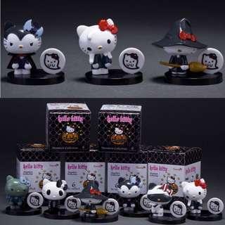 Instock: 6 x Halloween Hello Kitty Figurines Set
