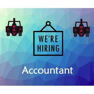 Hiring Accountant!