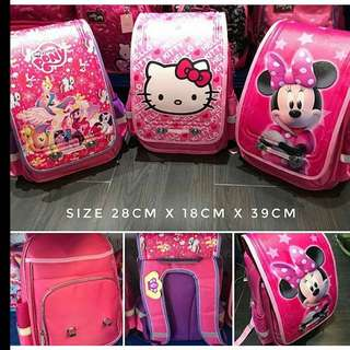 School bag hardcover