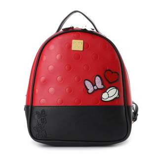 Japan Samantha Thavasa Colors By Jennifer Sky D23 Minnie Mouse Backpack (Red)
