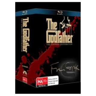 Imported Blu Ray Boxset: The Godfather 1- 3 : The Coppola Restoration