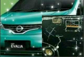 peredam suara pintu mobil Nissan Evalia