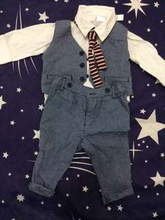 Baby boy formal attire OOTD