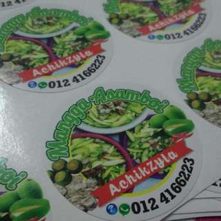 Sticker Product