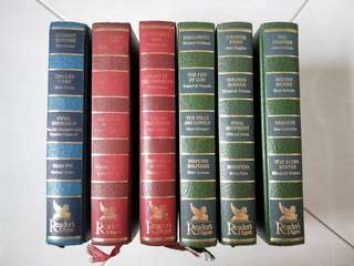 Reader's Digest books (assorted titles)