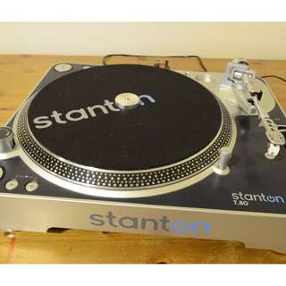 Stanton T.80 Turntable Record Player