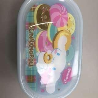 CINNAMOROLL 肉桂狗 日本購入 卡通 小孩 便當盒 親子 置物盒 野餐盒