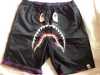 Bape Shark 雙面短褲
