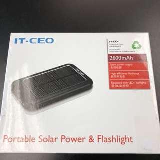 IT-CEO SC700U Portable Solar Power & Flashlight