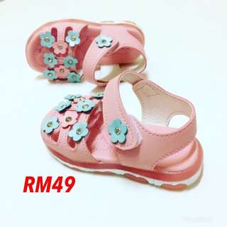 LAMP SHOES FLOWER BLINK SANDAL