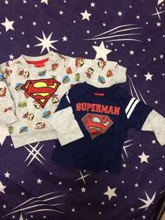 Superman Tops Sweater
