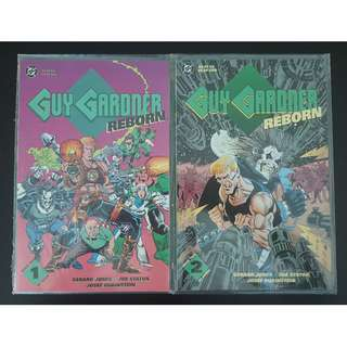 Guy Gardner Reborn (1992) #1 & #2(Out of 3) Mini-series