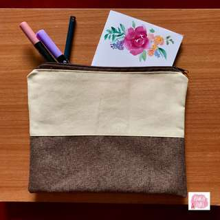 Handmade square pouch