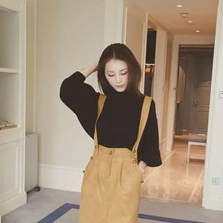 (PO) Knitted Turtleneck Blouse