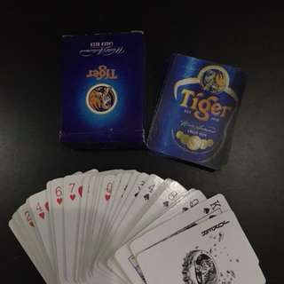 Tiger mini playing cards