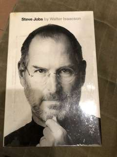 Steve jobs hard bound book