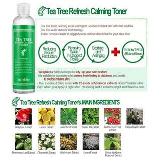 SECRET KEY TEA TREE REFRESH CALMING TONER 248ml