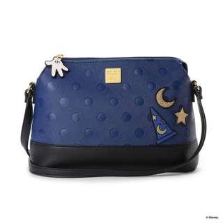 Japan Samantha Thavasa Colors By Jennifer Sky D23 Mickey Mouse Shoulder Bag (Blue)