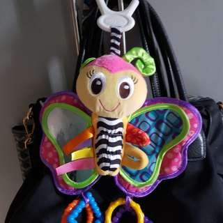 Stroller Hanging Butterfly Toy