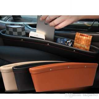 High quality Leather Car side pocket