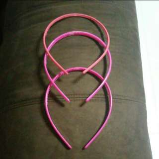 Pink Assorted Hair Band