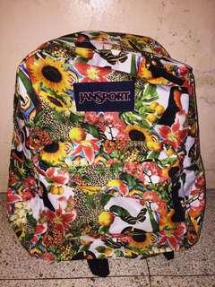Floral Jansport Bag