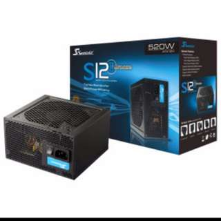 SEASONIC 520watts POWER SUPPLY