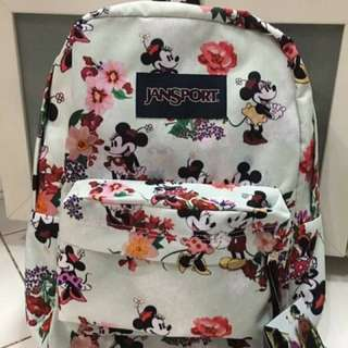 JANSPORT Special Print ✔Large Size ✔With Laptop Sleeve ✔1year Warranty ✔Made In U.S.A 💯Percent ORIGINAL