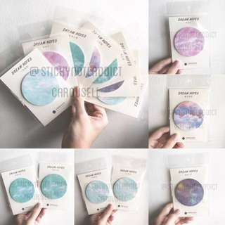 [INSTOCKS] Dream Notes sticky note