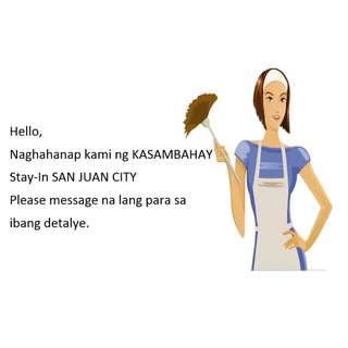 Looking for Kasambahay