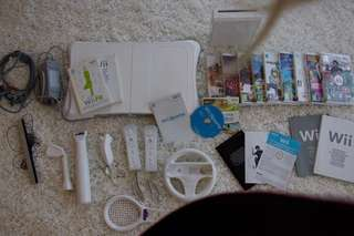 Wii Console Set (games excluded)