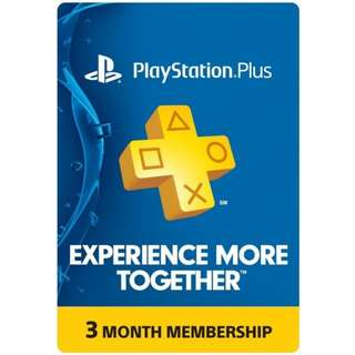 PS PLUS 3Months US