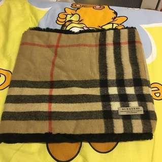 Burberry 雙面圍巾 頸巾 scarf