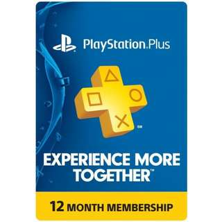 PS PLUS 12MONTHS US
