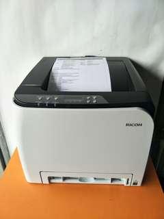 Ricoh Aficio SP C250DN 2400 X 600 DPI 250 Sheets Color Laser Printer