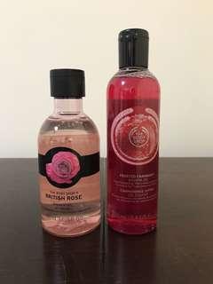The Body Shop Shower Gels