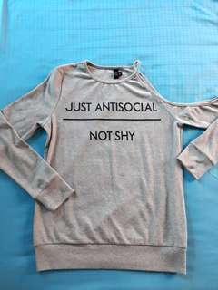BN Grey Sweater