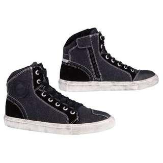 美國AUGI時尚車靴AU3 Urban 車靴 休閒短車靴買就加送手套潮牌流行 休閒車靴  帆布車靴 黑色