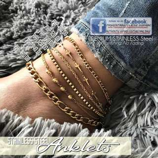 ANKLETS on SALE - Non Tarnish!