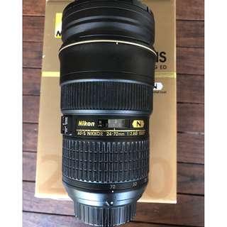 Nikon AF-S Nikkor 24-70mm f/2.8G ED Nano Crystal Coat