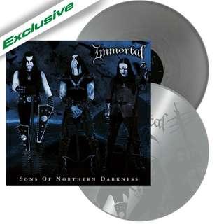 Immortal - Sons Of Northern Darkness (Silver) 2LP Vinyl