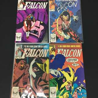 Falcon 1 to 4 Marvel Comics Book Avengers Movie Captain America