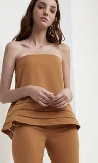 C/MEO Collective Say it Again Bustier in Ochre