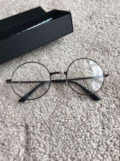 Your stylish round pair Bronze clear glasses frames
