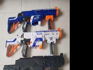 Assorted Nerf Guns