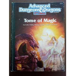 Advanced Dungeons & Dragons - Tome of Magic 2nd Edition RPG