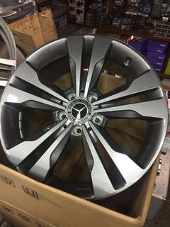 Original Mercedes Benz new 18 inch sport rims with tyre