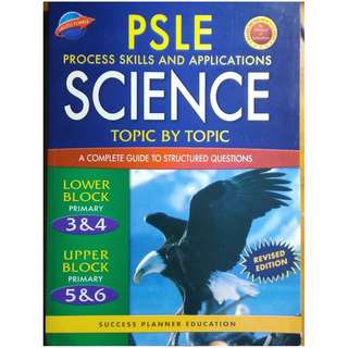 PSLE Process Skills & Applications SCIENCE