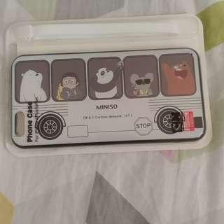 購至台灣miniso iphone 6+/6s+ 機殼