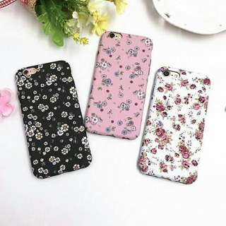 FASHION FLORAL HARD CASE FOR IPHONE💕
